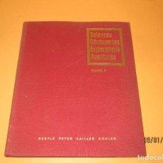 Coleccionismo Álbum: ANTIGUO ÁLBUM CIENCIAS DESCUBRIMIENTOS EXPLORACIONES AVENTURAS DE NESTLÉ EN FRANCÉS VOL. 3 AÑO 1957. Lote 73480839