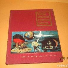 Coleccionismo Álbum: ANTIGUO ÁLBUM CIENCIAS DESCUBRIMIENTOS EXPLORACIONES AVENTURAS DE NESTLÉ EN FRANCÉS VOL. 2 AÑO 1956. Lote 73482667