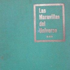 Coleccionismo Álbum: LAS MARAVILLAS DEL UNIVERSO III NESTLÉ. Lote 73538063