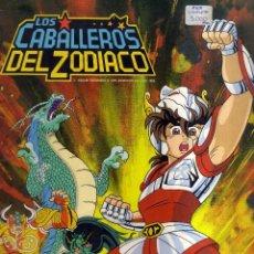 Coleccionismo Álbum: ALBUM LOS CABALLEROS DEL ZODIACO COMPLETO. Lote 73834199