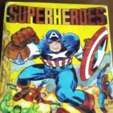 Coleccionismo Álbum: SUPERHEROES COMPLETO. Lote 73906599