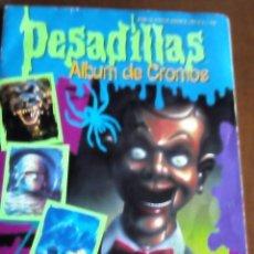 Coleccionismo Álbum: PESADILLAS ALBUM COMPLETO. Lote 73920439