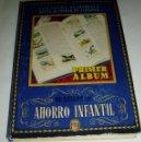 Coleccionismo Álbum: ALBUM COMPLETO DE SELLOS DE AHORRO INFANTIL ZARAGOZA 1947. Lote 73935279