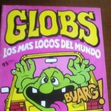 Coleccionismo Álbum: GLOBS COMPLETO MIRAR FOTOS. Lote 74295583