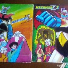 Coleccionismo Álbum: MAZINGUER Z ALBUMES 1 Y 2 COMPLETOS MIRAR FOTOS. Lote 74300423