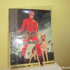 Coleccionismo Álbum: ALBUM DE CROMOS ,EL HOMBRE ENMASCARADO,(DOLAR) !!!!UNICO EN TC COMPLETO!! ,JOYA,SOLO FIN DE SEMANA!. Lote 74454151