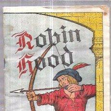 Coleccionismo Álbum: ALBUM ROBIN HOOD. COMPLETO. PERFECTO ESTADO. VER FOTOS.. Lote 74789359