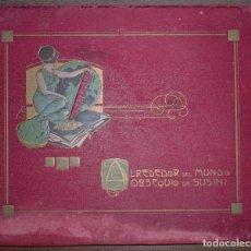 Coleccionismo Álbum: ALBUM. ALREDEDOR DEL MUNDO. OBSEQUIO DE CIGARROS SUSINI. HABANA. COMPLETO. 30,3 X 37 CM. Lote 75176907