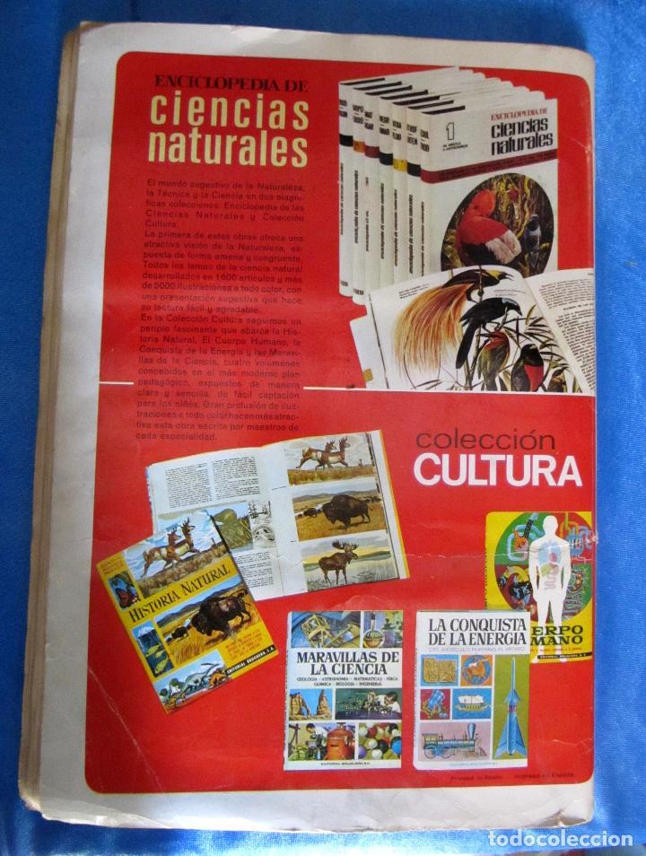 Coleccionismo Álbum: ÁLBUM COMPLETO. HISTORIA NATURAL. EDITORIAL BRUGUERA, 1967. - Foto 9 - 75411537