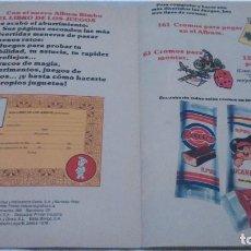 Coleccionismo Álbum: ALBUM LOS JUEGOS BIMBO. Lote 75420331