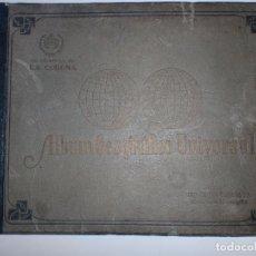 Coleccionismo Álbum: ALBUM GEOGRÁFICO UNIVERSAL. CIGARROS LA CORONA. TABACALERA CUBANA. HABANA. 1936. COMPLETO. B. ESTADO. Lote 75659575