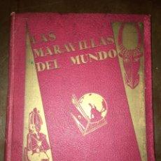 Coleccionismo Álbum: ALBUM DE CROMOS LAS MARAVILLAS DEL MUNDO DE NESTLÉ COMPLETO. Lote 76271969