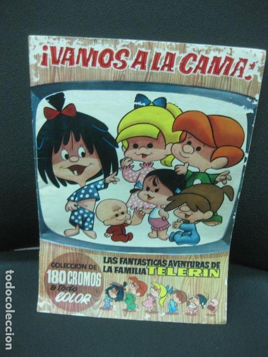 ALBUM COMPLETO. ¡VAMOS A LA CAMA!. AVENTURAS DE LA FAMILIA TELERIN. 180 CROMOS. BRUGUERA 1965 (Coleccionismo - Cromos y Álbumes - Álbumes Completos)