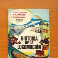 Coleccionismo Álbum: ÁLBUM HISTORIA DE LA LOCOMOCIÓN - COMPLETO - EDITORIAL FERMA 1967 - VER LAS FOTOS DEL INTERIOR . Lote 76835251