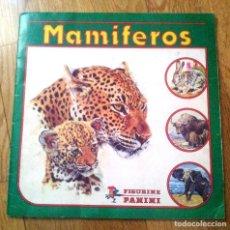 Coleccionismo Álbum: MAMIFEROS - PANINI - ALBUM COMPLETO - CROMO CROM. Lote 76842431