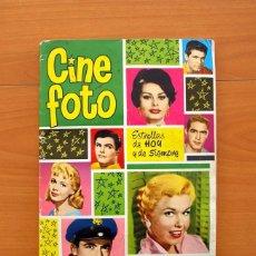 Coleccionismo Álbum: ÁLBUM CINE FOTO - EDITORIAL BRUGUERA 1961 - COMPLETO, 210 CROMOS - VER LAS FOTOS EN EL INTERIOR . Lote 76847511
