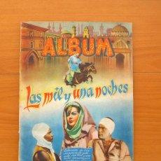 Coleccionismo Álbum: ÁLBUM LAS MIL Y UNA NOCHES - EDITORIAL GRAFIDEA 1945 - COMPLETO, 224 CROMOS . Lote 76940461