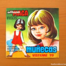 Coleccionismo Álbum: ÁLBUM MUÑECAS VÍSTEME TU - EDITORIAL MAGA 1973 - COMPLETO - VER LAS FOTOS EN EL INTERIOR . Lote 76943381