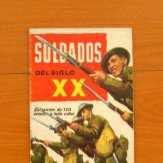 Coleccionismo Álbum: ÁLBUM SOLDADOS DEL SIGLO XX - EDITORIAL RUIZ ROMERO 1960 - COMPLETO - VER FOTOS EN EL INTERIOR. Lote 77233629