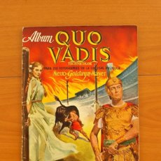 Coleccionismo Álbum: ÁLBUM QUO VADIS - EDICIONES CLIPER 1954 - COMPLETO - VER FOTOS EN EL INTERIOR. Lote 77283637