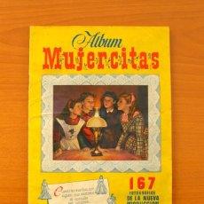 Coleccionismo Álbum: ÁLBUM MUJERCITAS - EDICIONES CLIPER 1952 - COMPLETO - VER FOTOS EN EL INTERIOR. Lote 77283953