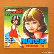 Coleccionismo Álbum: ÁLBUM MUÑECAS VÍSTEME TU - EDITORIAL MAGA 1973 - COMPLETO - VER LAS FOTOS EN EL INTERIOR. Lote 215975838