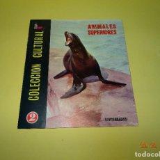 Coleccionismo Álbum: ANTIGUO ALBUM DE CROMOS COMPLETO *ANIMALES SUPERIORES* DE FHER - AÑO 1971. Lote 77369093