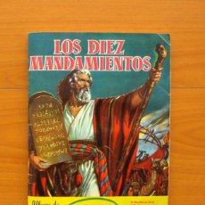 Coleccionismo Álbum: ÁLBUM LOS DIEZ MANDAMIENTOS - EDITORIAL BRUGUERA - CHOCOLATES SULTANA 1959 - COMPLETO - VER FOTOS . Lote 77384821
