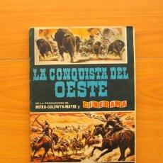 Coleccionismo Álbum: ÁLBUM LA CONQUISTA DEL OESTE - EDITORIAL BRUGUERA 1963 - COMPLETO - VER FOTOS EN EL INTERIOR. Lote 77386037