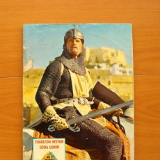 Coleccionismo Álbum: ÁLBUM EL CID -CHARLTON HESTON, SOFIA LOREN - EDITORIAL FHER 1962 -COMPLETO -VER FOTOS EN EL INTERIOR. Lote 77386577