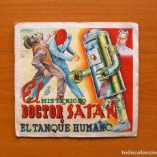 Coleccionismo Álbum: ÁLBUM EL MISTERIOSO DOCTOR SATAN - COMPLETO - EDITORIAL FHER 1943 - VER FOTOS EN EL INTERIOR . Lote 77736841