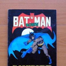 Coleccionismo Álbum: ÁLBUM BATMAN Y ROBIN - PERIÓDICO EL INDEPENDIENTE 1989 - COMPLETO - VER FOTOS EN EL INTERIOR. Lote 77959113
