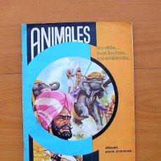 Coleccionismo Álbum: ÁLBUM ANIMALES, SU VIDA... SUS LUCHAS... SU AMBIENTE... - COMPLETO - EDITORIAL FHER 1964 - VER FOTOS. Lote 78107553