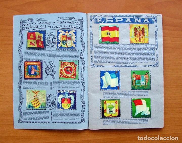 Coleccionismo Álbum: Álbum Banderas y escudos de todo el mundo - Editorial Fher 1949 - Completo- Ver fotos en el interior - Foto 2 - 78121353