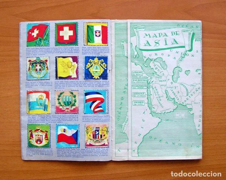 Coleccionismo Álbum: Álbum Banderas y escudos de todo el mundo - Editorial Fher 1949 - Completo- Ver fotos en el interior - Foto 7 - 78121353