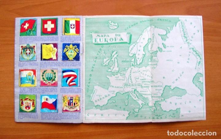 Coleccionismo Álbum: Álbum Banderas y escudos de todo el mundo - Editorial Fher 1949 - Completo- Ver fotos en el interior - Foto 8 - 78121353