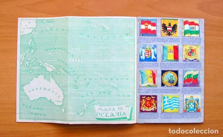 Coleccionismo Álbum: Álbum Banderas y escudos de todo el mundo - Editorial Fher 1949 - Completo- Ver fotos en el interior - Foto 12 - 78121353
