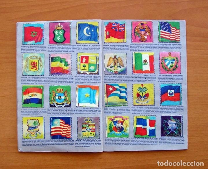 Coleccionismo Álbum: Álbum Banderas y escudos de todo el mundo - Editorial Fher 1949 - Completo- Ver fotos en el interior - Foto 15 - 78121353