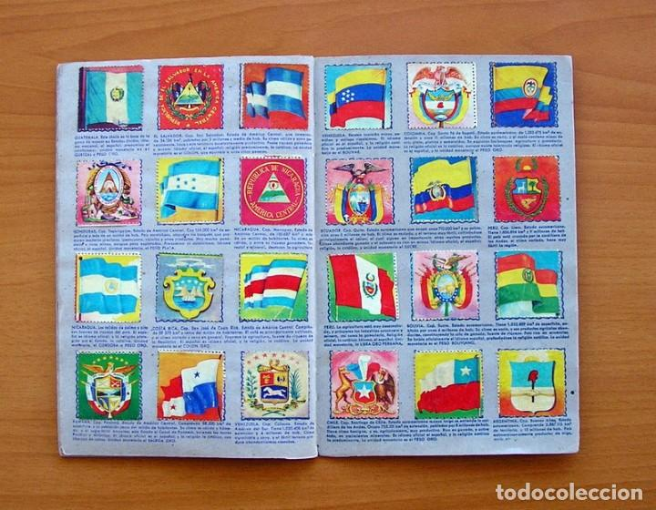 Coleccionismo Álbum: Álbum Banderas y escudos de todo el mundo - Editorial Fher 1949 - Completo- Ver fotos en el interior - Foto 16 - 78121353