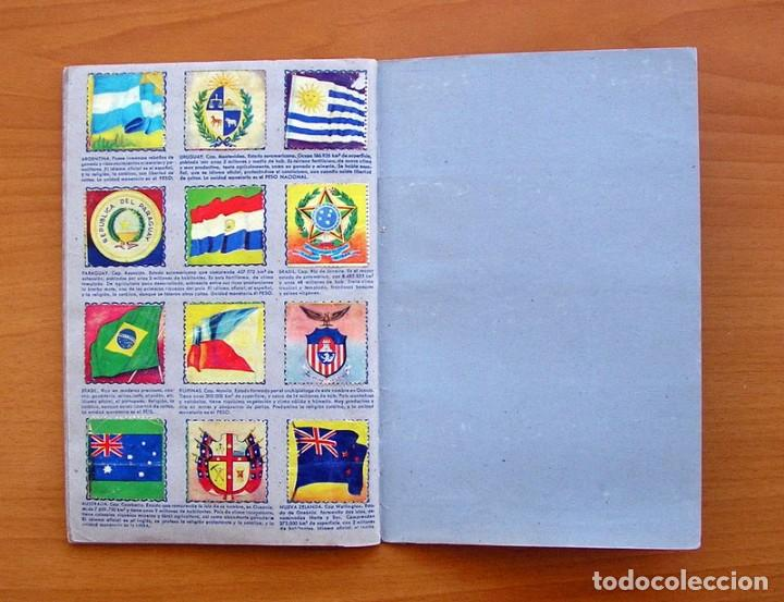 Coleccionismo Álbum: Álbum Banderas y escudos de todo el mundo - Editorial Fher 1949 - Completo- Ver fotos en el interior - Foto 17 - 78121353