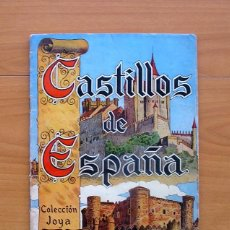 Coleccionismo Álbum: ÁLBUM CASTILLOS DE ESPAÑA - CASULLERAS 1957 - COMPLETO - VER FOTOS EN EL INTERIOR. Lote 78238149