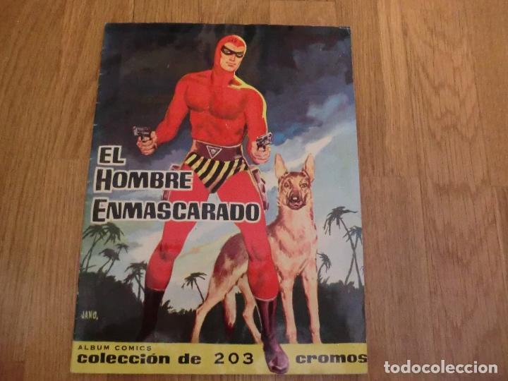 ALBUM COMPLETO DEL HOMBRE ENMASCARADO,( DOLAR), FASCIMIL,!!!UNICO COMPLETO ,NUNCA VISTO!!! (Coleccionismo - Cromos y Álbumes - Álbumes Completos)