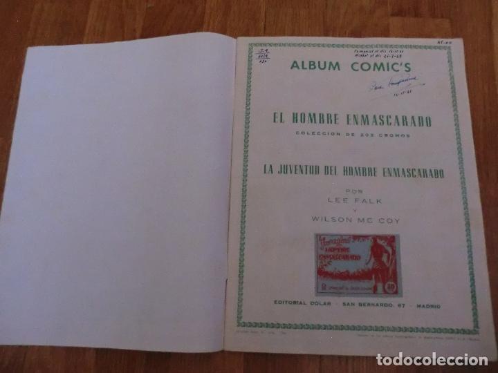 Coleccionismo Álbum: ALBUM COMPLETO DEL HOMBRE ENMASCARADO,( DOLAR), FASCIMIL,!!!UNICO COMPLETO ,NUNCA VISTO!!! - Foto 2 - 97408694