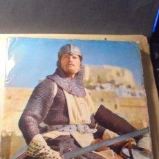 Coleccionismo Álbum: ALBUM - EL CID - CHARLTON HESTON - SOFIA LOREN - ALBUM COMPLETO EDT. FHER 1962 . Lote 79232185