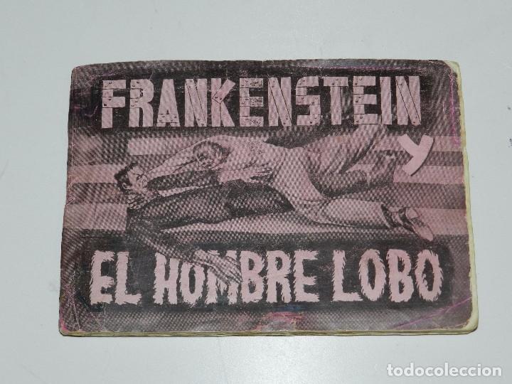 ALBUM FRANKENSTEIN Y EL HOMBRE LOBO , COMPLETO !!! 144 CROMOS DE LA PELICULA , EDT FHER (Coleccionismo - Cromos y Álbumes - Álbumes Completos)