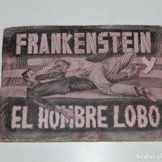 Coleccionismo Álbum: ALBUM FRANKENSTEIN Y EL HOMBRE LOBO , COMPLETO !!! 144 CROMOS DE LA PELICULA , EDT FHER. Lote 79336549