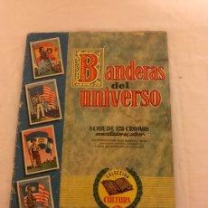 Coleccionismo Álbum: BANDERAS DEL UNIVERSO BONITO ALBUM DEL AÑO 1957 MAS O MENOS ED BRUGUERA .. Lote 79641915
