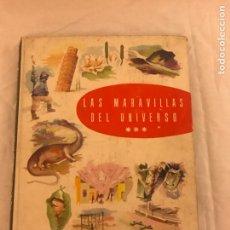 Coleccionismo Álbum: ALBUM LAS MARAVILLAS DEL UNIVERSO DE NESTLÉ LA PENILLA CANTABRIA ,TOMO 3 AÑO 1958. Lote 79643818