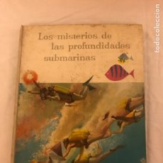 Coleccionismo Álbum: ÁLBUM LOS MISTERIOS DE LAS PROFUNDIDADES SUBMARINAS 65 PAGINAS DE EL AÑO 1959 , FIRMA NESTLE .. Lote 79644194
