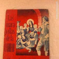 Coleccionismo Álbum: ÁLBUM LAS MARAVILLAS DE LA CARIDAD DEL AÑO 1959 ALBUM COMPLETO DE 88 CROMOS PRECIOSO. Lote 79644382